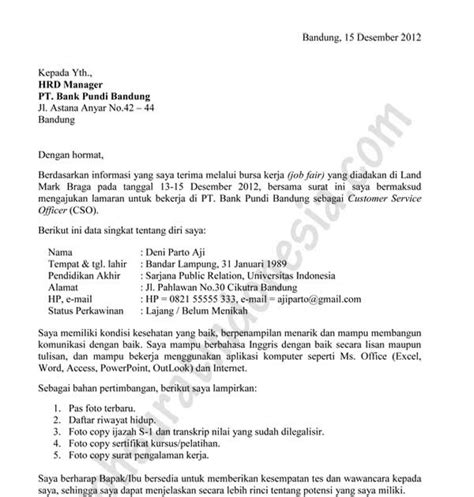 format surat pernyataan sscn contoh surat lamaran kerja resmi terbaru pomegranate pie