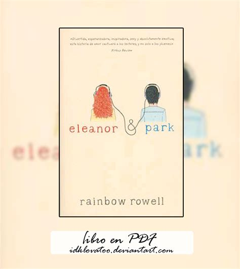 libro eleanor park exclusive eleanor y park libro pdf by idklovatoo on