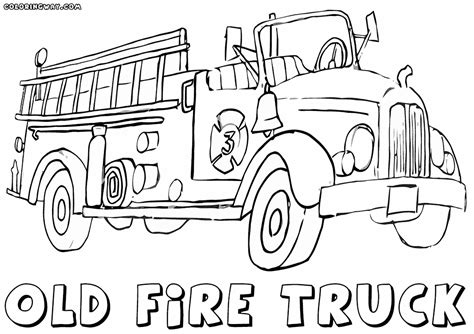 fire truck coloring page fire truck coloring pages coloring pages to download and