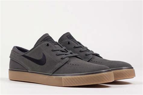 Nike Stefan Janosky Grey nike sb stefan janoski base grey black gum cult edge