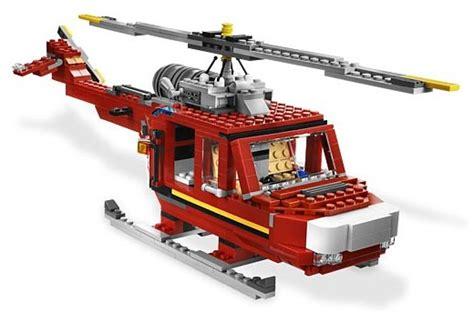 Set 1987 3in1 lego creator brandweerwagen 3in1 lego 6752