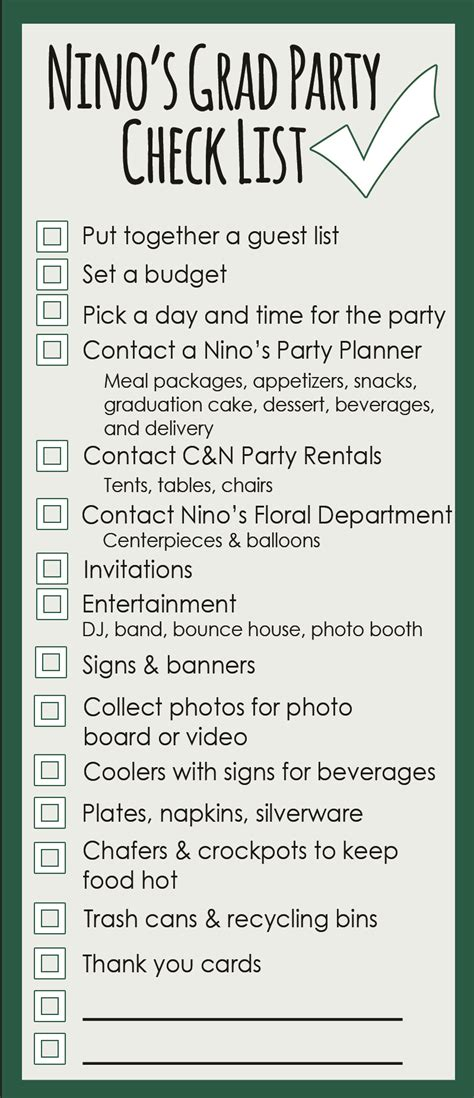 planning a house party checklist planning a house party checklist house plans
