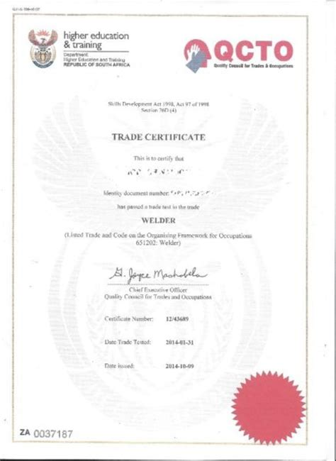 Plumbing Trade Test by Olifantsfontein Trade Test Centre Electrical Downlodable Things