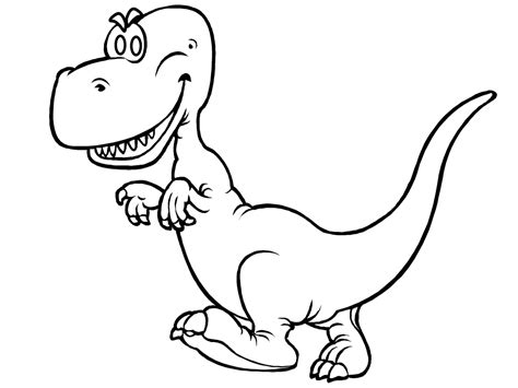 cartoon t rex coloring page cartoon t rex coloring pages coloringstar