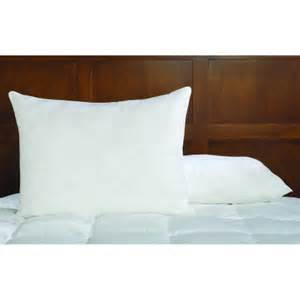 feather pillows walmart st home memory white duck feather pillow