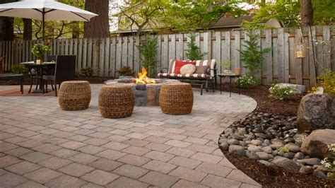 tub patio ideas patio with pavers ideas tub paver patio ideas and