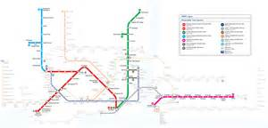 Istanbul Subway Map by