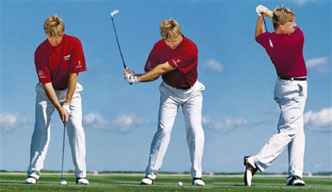 how to swing through the golf ball great golf swings