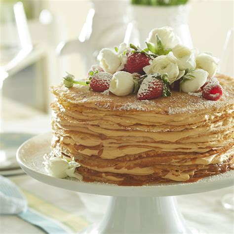 Caramel Crepe Cake   Williams Sonoma Taste