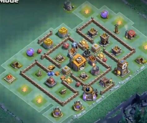top 18 best builder hall bh6 base new anti 1 star 5 best builder hall 6 base designs anti night witch