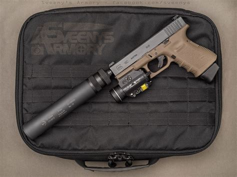 glock 19 light and laser glock 19 with suppressor and laser light 1600x1200 oc