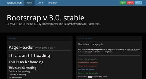 bootstrap theme free black bootstrap 3 0 theme black blue skin bootstrap themes on