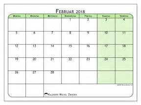 Kalender 2018 Februar Kalender Zum Ausdrucken Februar 2018 Olivarius 2
