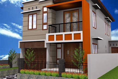 desain rumah minimalis  lantai  simple tapi lengkap