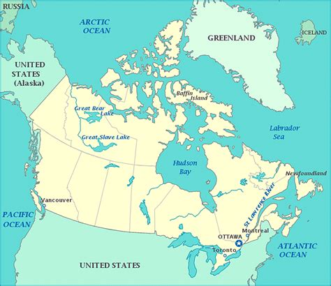 map pf canada print this map of canada