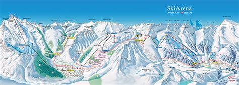 andermatt skiarena andermatt sedrun pistenplan skikarte