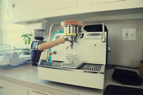 la marzocco home custom gs 3 espresso machine unboxing