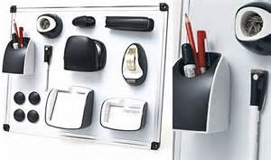 Magnetic Desk Accessories Magnetic Office Set Helps You Stick Your Office Supplies To Your Cubicle Wall Cubicle Walls