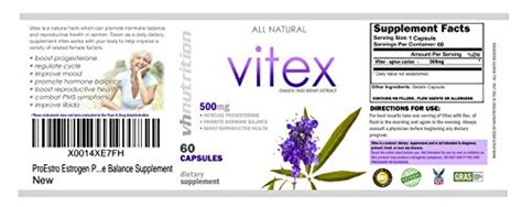 vitex chasteberry and other options that may help with vh nutrition vitex chaste tree berry supplement formula