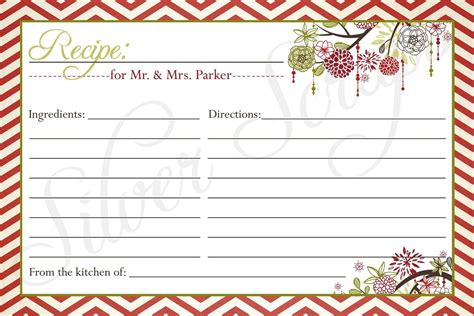 Cool Recipe Card Template by Recipe Card Templates Recipe Card Protectors Pots Pansjpg