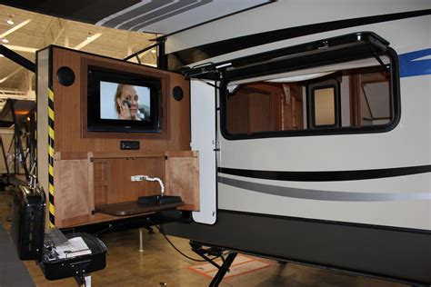 2012 Ohio Rv Supershow Outdoor Kitchens Gr8lakescer Rv With Outdoor Kitchen