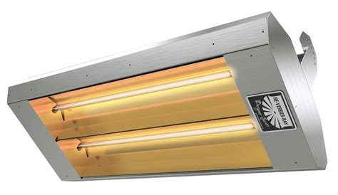 Types Of Electric Heaters by Types Of Infrared Heaters High Low Intensity Units