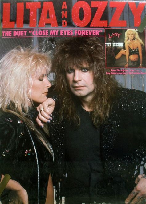 lita ford with ozzy osbourne 7138 best from the wayback machine images on