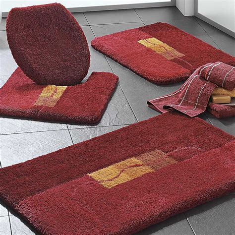 Luxury Deep Pile Motif Bathroom Mats by Witt   Witt