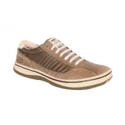 Scketcher Skechers Piers Brown Leather Casual Mens Shoes Skechers