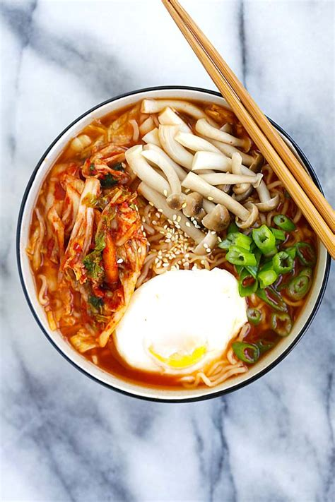 Ramen Korea kimchi ramen easy delicious recipes