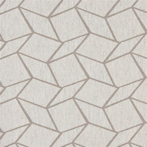grey and white geometric boxes upholstery fabric by