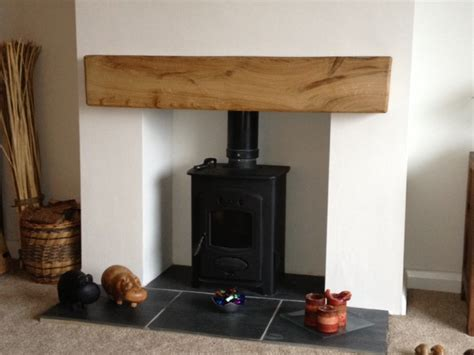 oak fireplace beams mantels reclaimed wood shelves