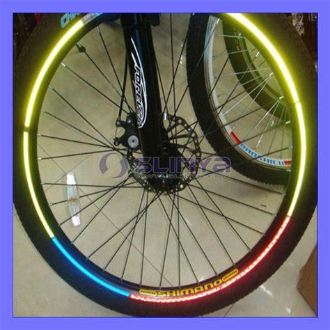 Fahrrad Aufkleber Felgen by Fluoreszierende Mtb Fahrrad Aufkleber Fahrrad Rad