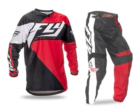 fly racing motocross gear fly racing new 2016 mx f 16 red black bmx mtb motocross