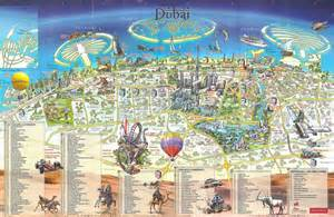 Dubai To World Maps Of Dubai Detailed Map Of Dubai City In