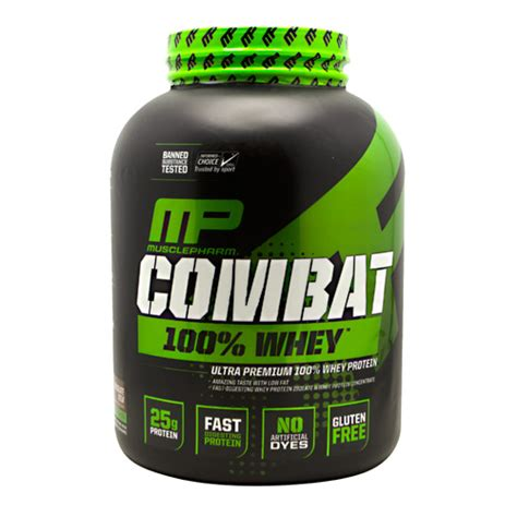 Combat Whey Protein Musclepharm Combat 100 Whey Protein 5 Lbs
