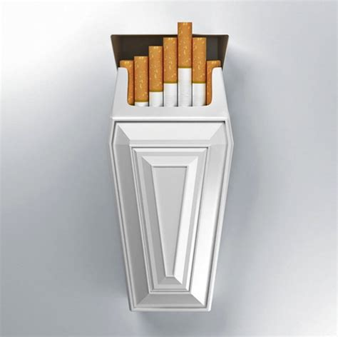 How To Make A Cigarette Box Out Of Paper - coffin shaped cigarette cases a stylish deterrent for