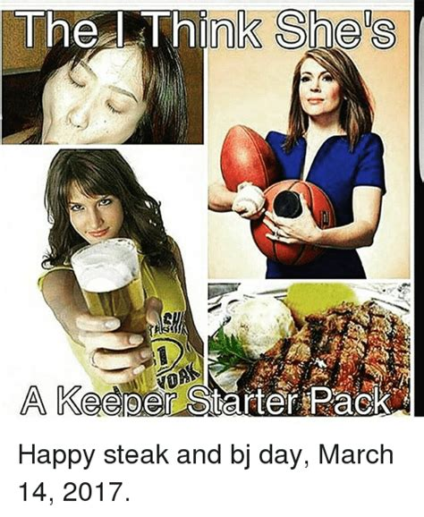 Steak And Bj Meme - 25 best memes about steak and bj day steak and bj day memes