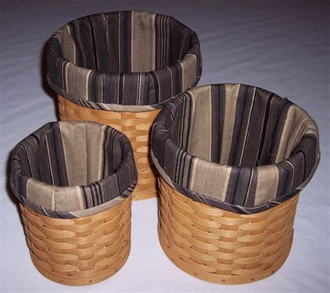 longaberger baskets for sale longaberger basket canister set for sale classifieds