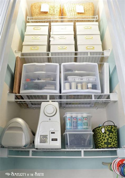 Craft Closet Organization Ideas by Small Craft Closet Organization Ideas Craftroom Ideas