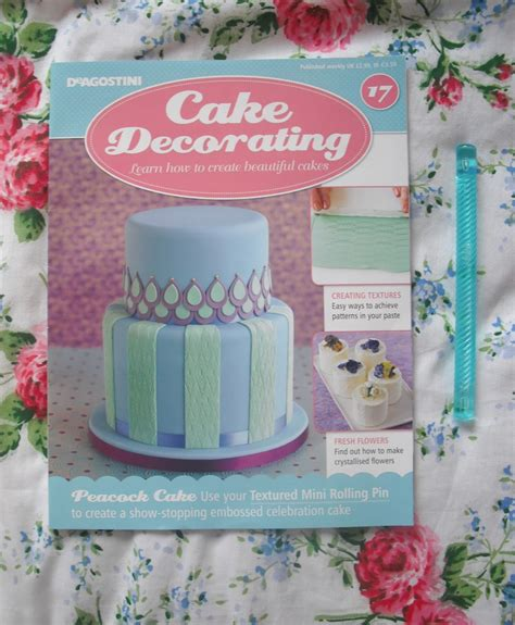 cake decorating magazine issue 17 textured rolling pin