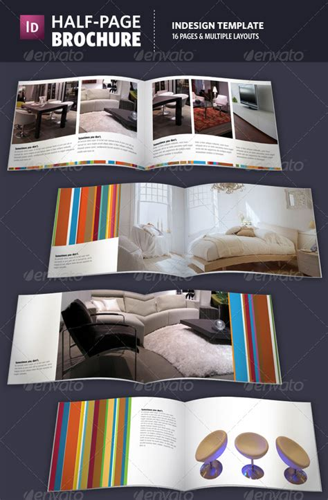 Half Page Brochure Template by Half Page Brochure Indesign Template By Adriennepalmer