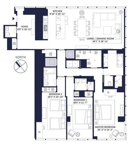 one57 floor plans one57 157 west 57th street luxury condos manhattan scout