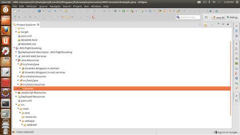 java directory layout java simple hornetq jms tutorial