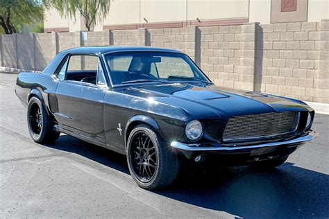 1968 ford mustang custom coupe 190189