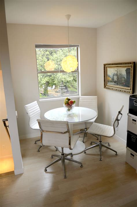 Standard Height Of Dining Table And Chairs Ikea Docksta Table Dining Room Eclectic With My