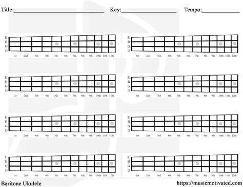 printable blank ukulele chord chart blank chord tabs for all instruments