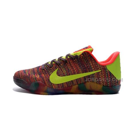 shoes for nike nike 11 elite weave colourful basketball shoes for