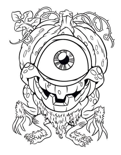 monster eyes coloring page monster eyes for coloring pages
