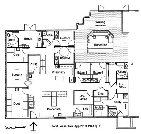 veterinary floor plans veterinary floor plan southwest veterinary hospital mi